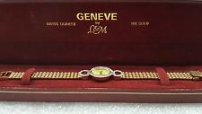 Ladies Geneve Diamond 14k Gold Watch Beautiful Elegant Stunning APPRAISED $4500