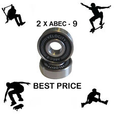 2  PRO Abec 9 Wheel bearings Skateboard scooter Quad inline Roller skate 11