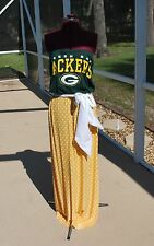 Green Bay Packers Strapless Tube Maxi Dress Sash Upcycled T-Shirts XS-XL