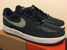 Nike Air Force 1 Low Obsidian /Med Grey / Wht Size 12 Leather/Nubuck DS NEW KITH