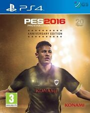Pro Evolution Soccer 2016 20th Anniversary Edition PS4 PES * NEW SEALED PAL *