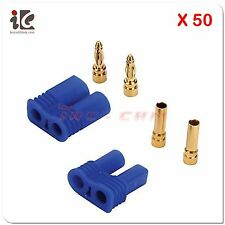 50 Pair Male / Female (Device / Battery) EC2 Style Connector Sets US Ship