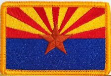 ARIZONA Flag Patch With VELCRO® Brand Fastener Military Emblem