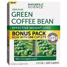 Nature's Science Green Coffee Bean 100 caps weight loss supplement