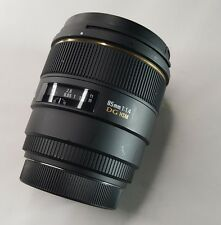Sigma 85mm f/1.4 EX DG HSM Large Aperture Medium Telephoto Prime Lens for Canon