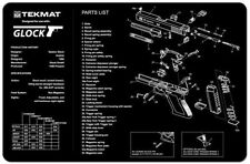 GLOCK 17 SELF LOADING PISTOL GUNSMITH TEKMAT COMPUTER GAMING LARGE MOUSE MAT NEW