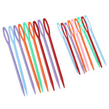 18 pcs Plastic Hand Sewing Yarn Darning Tapestry Needles Craft TS