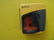 SONY WM-FS397 SPORTS WALKMAN FM/AM MEGA BASS RADIO CASSETTE TAPE PLAYER