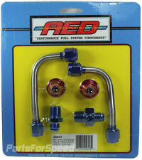 AED 60941 Stainless Hard Line Kit for Holley Regulator