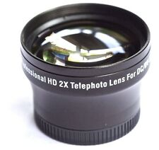 PRO HD 2x TELEPHOTO LENS FOR SONY HDR-PJ580V HDR-PJ580