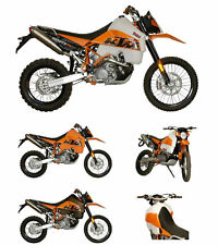 KTM 950 R Super Enduro 2006 30L Safari Long Range Fuel Tank Petrol Gas Orange
