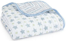 Aden and Anais Classic Dream Blanket - Prince Charming - Stars/Stripes