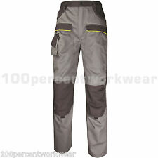 Size XXXL TALL Leg Panoply MCPAN GREY Mens Work Trousers Pants Cargo Pockets New