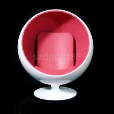 Fashion White Rotated Space Sofa Chair 1/6 Scale for Action Figure Accessory