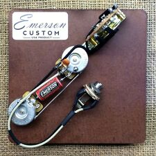 Emerson Custom 4-Way Telecaster Prewired Kit Wiring Harness Pots Made in USA