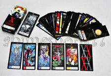 Rare Clamp X Japanese Anime Tarot 80 pcs Cards Set Cosplay New Free Shipping