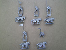 15mm Mini Figs Dark Ages Mounted Knights