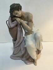 """Lladro #6313 """"Lost In Dreams""""  Grecian Roman Lady  MINT Condition Gorgeous!"""