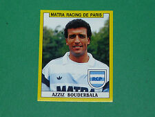N°158 AZIZ BOUDERBALA MATRA RACING CLUB PARIS PANINI FOOTBALL FOOT 89 1988-1989