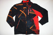 Spyder Boys 16 Ski Jacket Coat Black Orange Winter