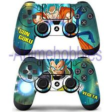 Anime Dragon Ball Super Goku Vegeta Skin Decal Sticker Cover for PS4 Controllers