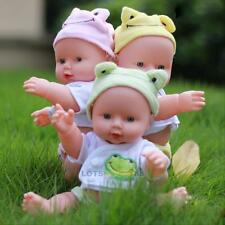 Realistic Reborn Baby Doll Toy Vinyl Silicone Lifelike Newborn Baby Kids Gifts#L