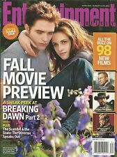 Entertainment Weekly magazine Twilight Breaking Dawn Jamie Foxx Les Miserables