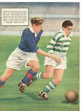 Billy simpson bobby collins glasgow rangers celtic image 50s football champions