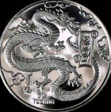 MONGOLIA - Year of the Dragon - 2000  - Proof Coin - 50 Torog -