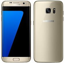 "Samsung Galaxy S7 EDGE Duos SM-G935FD Gold (FACTORY UNLOCKED) 5.5"" QHD, 32GB"