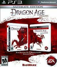 DRAGON AGE ORIGINS + AWAKENING ULTIMATE EDITION PS3! EPIC FANTASY BATTLE, FIGHT