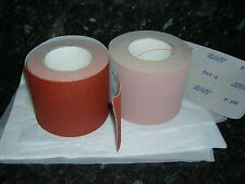 Hook & Loop Sanding roll 70mm wide x 25 metres available grits 80,120,180,240.