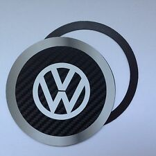 Magnetic Tax disc holder fit any volkswagen vw camper beetle polo golf gt white