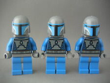 Lego Figurines Minifigs Star Wars - 3 Mandalorian troopers Neufs New / Set 7914