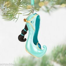 Disney Princess Jasmine Runway Shoe Ornament Christmas Holiday Theme Parks New