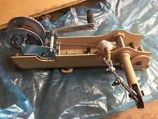 NOS HAND WINCH Semi Truck Lowboy Military Spare Tire MRAP