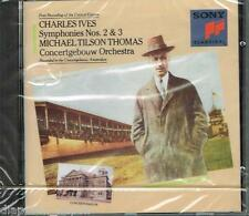 Ives: Sinfonie No 2 & 3 / Michael Tilson Thomas, Concertgebouw Orchestra - CD