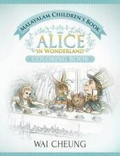 Malayalam Children's Book: Alice in Wonderland (English and Malayalam...