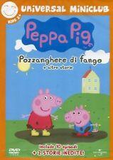 DvD PEPPA PIG POZZANGHERA DI FANGO E ALTRE STORIE   ......NUOVO