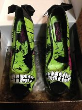 Iron Fist Zombie Stompers Pumps Punk Platform Heels Monster Shoes Size 10 Wide