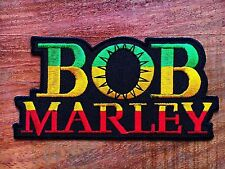 BOB MARLEY ONE LOVE EMBROIDERY IRON ON PATCH BADGE