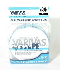 Varivas P.E Line High Grade All Purpose Braided Line 150m P.E 0.8 11.2lb (6855)