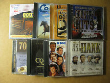 COUNTRY MUSIC 8 CD LOT - Roger Miller, Faron Young, Hank Snow, Buck Owens, etc.