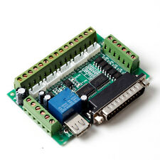 CNC 5 Axis Breakout Board For Stepper Driver Controller mach3 4 DIY Project HW