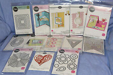 Sizzix Lot Thinlits / Framelits / Card Flip-Its / Drop-Ins / Step-Ups: 13 items