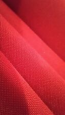 11 yard Red Water Resistant 400d Poly NYLON Flawed outdoor coated Fabric
