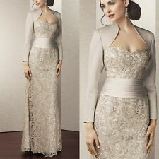 Mother of the Bride/Groom Lace Dresses Wedding Party Formal Evening Outfits New