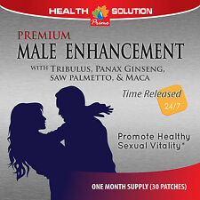 Male Enhancement Patches - Testosterone Booster - Male Enhancer - 30 Patches