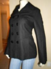 NWT GUESS BLACK WOOL JACKET/COAT W/OUT HOOD 100%AUTHENTIC-MD
