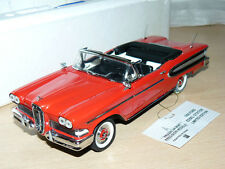alfreedom FRANKLIN MINT 1958 Ford Edsel Citation LIMITED EDITION die cast1:24